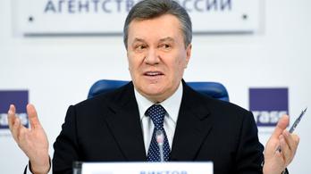 Hazaárulásért 15 év börtönt kértek Viktor Janukovics volt ukrán elnökre