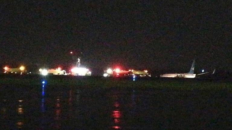 Földhöz csapódott egy Boeing 737-es Manilában