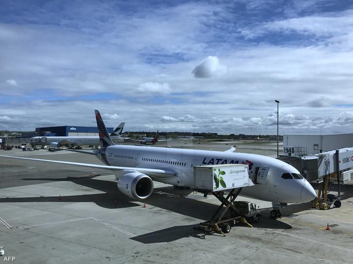 A LATAM latin-amerikai légitársaság repülőgépe