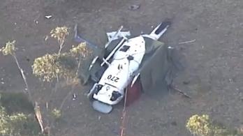 Lezuhant egy tűzoltó-helikopter Ausztráliában