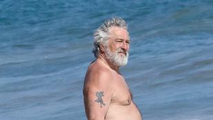 Robert De Niro 75 évesen megtekintette az óceánt