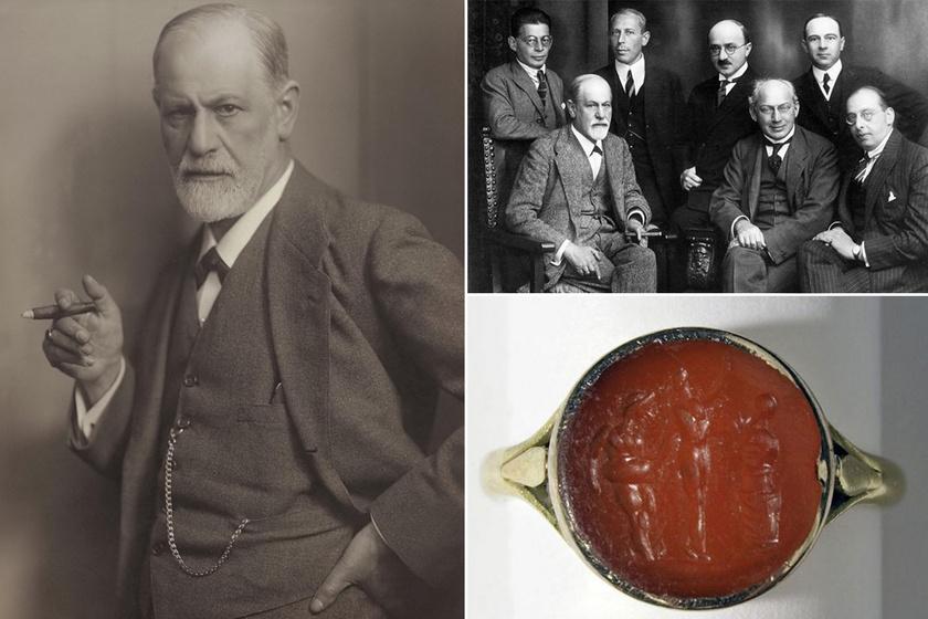 Freud különleges gyűrűket adott legközelebbi munkatársainak: titkos társaságot alapított