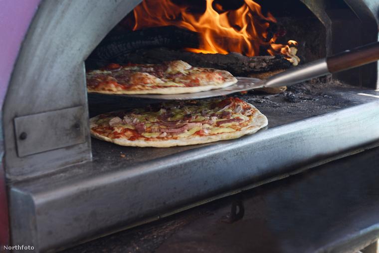 A kemencében sült pizza elfogyasztása előtt és/vagy után