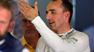 Kubica: A bal kezem 35 %-kal jobb, mint amit valaha láttak