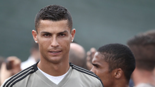 Ronaldo is átesett az újoncok beavatási szertartásán