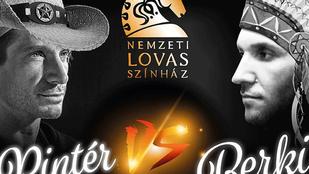 Húúúúúúúha: Berki Krisztián és Pintér Tibor összeálltak színészkedni