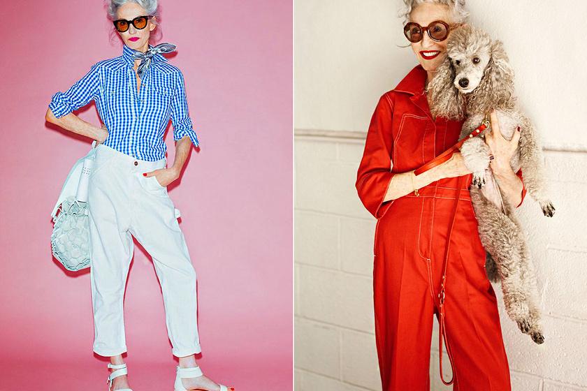 70 éves, de jobban öltözik, mint a legtöbb fiatal: 13 izgalmas szett az Instagram divatikonjától