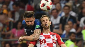 Szívproblémái miatt leáll a futballal a vb-2. horvát védő