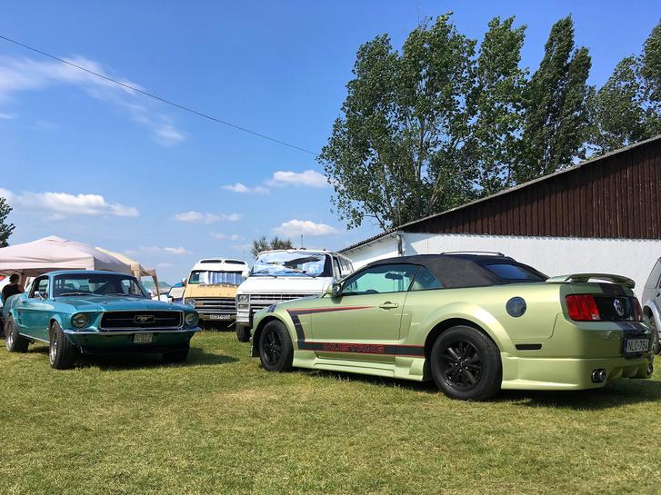 Mustang nélkül nincs amerikai autós rendezvény, pont