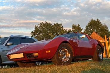 A kólásüveg-Corvette is örök klasszikus, nem is lehet betelni vele. És ugye az űrhajósok is ilyennel verettek