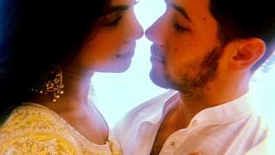 Gyönyörű fotókkal jelentette be az eljegyzését Priyanka Chopra és Nick Jonas
