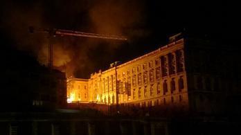 Tűz volt a budai várban