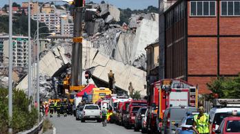 Előkerült az utolsó három eltűnt ember holtteste Genovában
