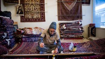 Nagy bajban a hétszáz éves perzsa szőnyegkultúra