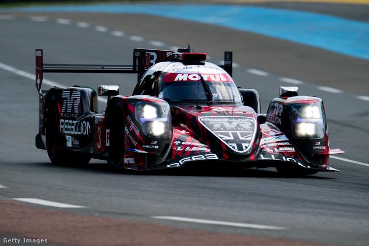 A végül győztes Rebellion Racing-kocsi még a Le Mans-i 24 órás versenyen