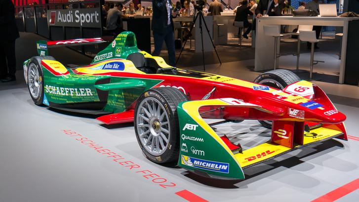 Az egyik ABT és az Audi által közösen használt autó