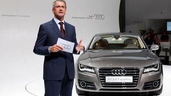 Börtönben marad az Audi volt vezérigazgatója