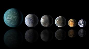 Váratlanul sok vízbolygó van a naprendszerünkön kívül