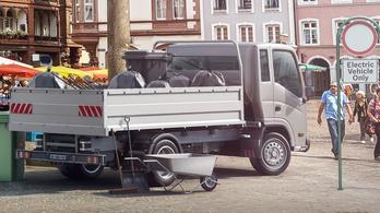Új motorral pörgetné fel a villanyfurgonozást a Bosch