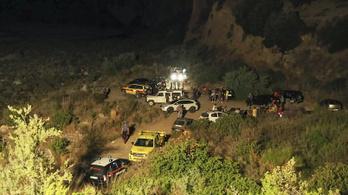 Megáradt folyóba fulladt 11 túrázó Dél-Olaszországban