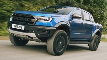 Hozzánk is eljön a Ford platós vadállata