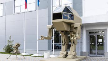 Lépegető robotot és digitális álcaruhát fejleszt Oroszország