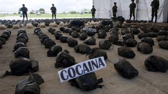 Drónokkal vadásznak a kolumbiai kokainültetvényekre