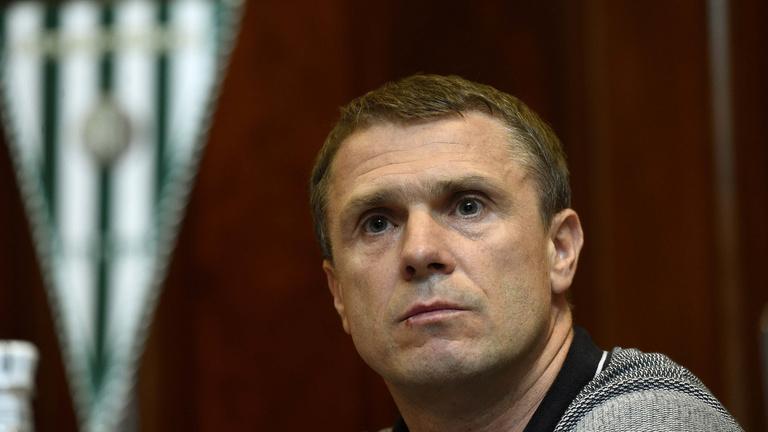 Szerhij Rebrov a Fradi új edzője