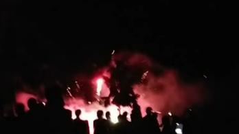 Nézők közé csapódtak rakéták az augusztus 20-i tűzijátékon Zánkán