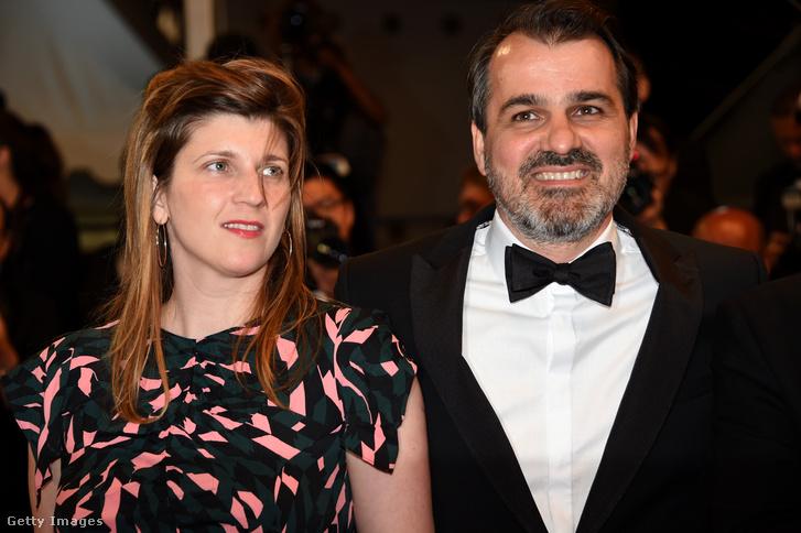 Wéber Kata és Mundruczó Kornél a Jupiter holdja premierjén Cannes-ban