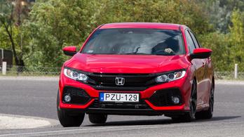 Teszt: Honda Civic 5D 1.6 i-DTEC 9AT Elegance Navi – 2018.