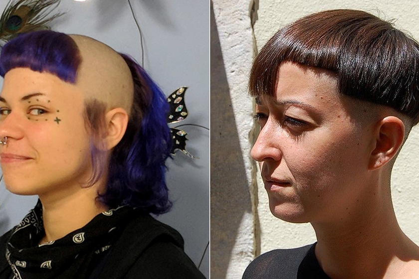 Divatos frizurát akart, de borzalmas lett a végeredmény - Fotókon 12 hajkorona, amitől a tiéd is égnek áll