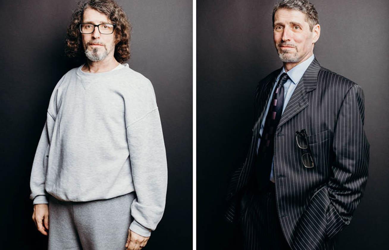 6d0bfdcb77 Ennyit számít, hogy egy férfi melegítőt vagy öltönyt visel - Elképesztő  átalakulások