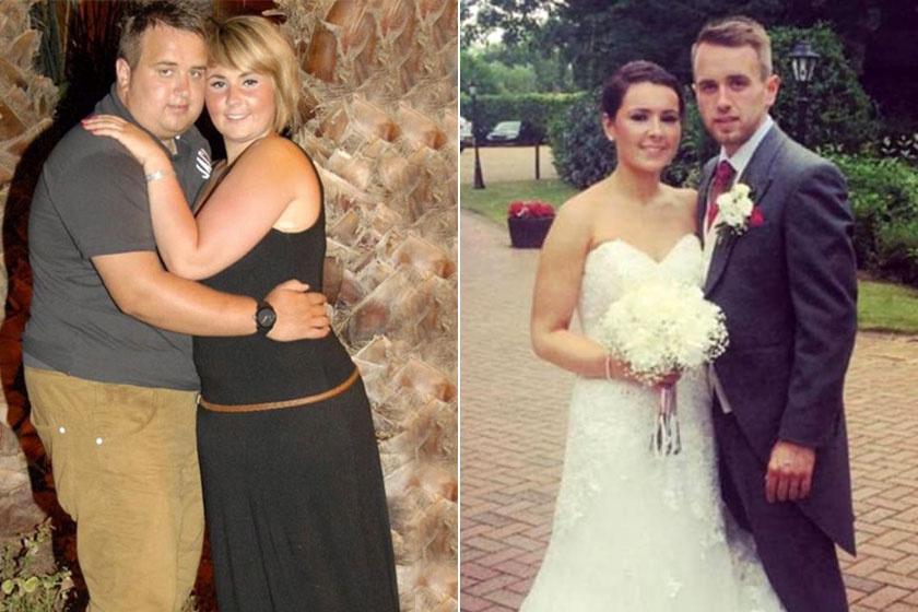 60 kilót fogytak az esküvőjükre - Előtte-utána fotókon 8 inspiráló átalakulás