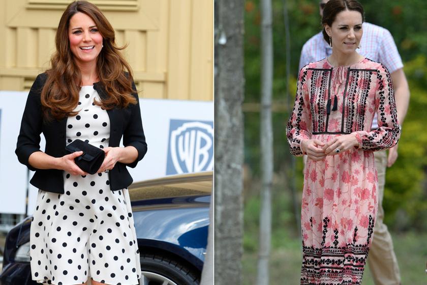 Olcsó ruhába bújt Katalin hercegné - Néha a királyi család tagjai is vásárolnak ott, ahol te