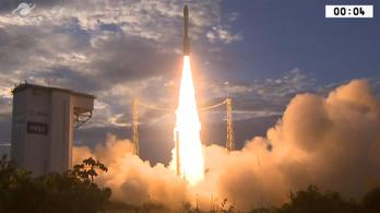 Úton van a lézeres szélmérő műhold