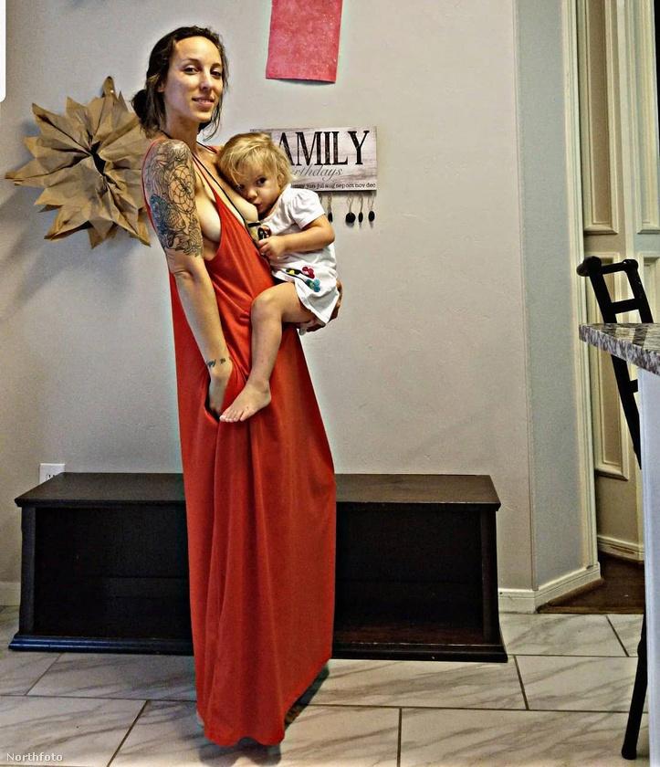 A képen látható texasi anyuka Carlee Benear, írtunk már róla egyszer az Instagramja alapján