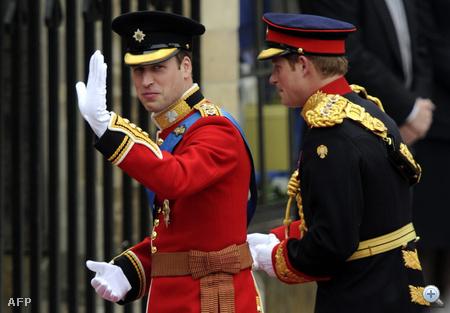 Vilmos herceg katonai egyenruhában mondja majd ki a boldogító igent.
