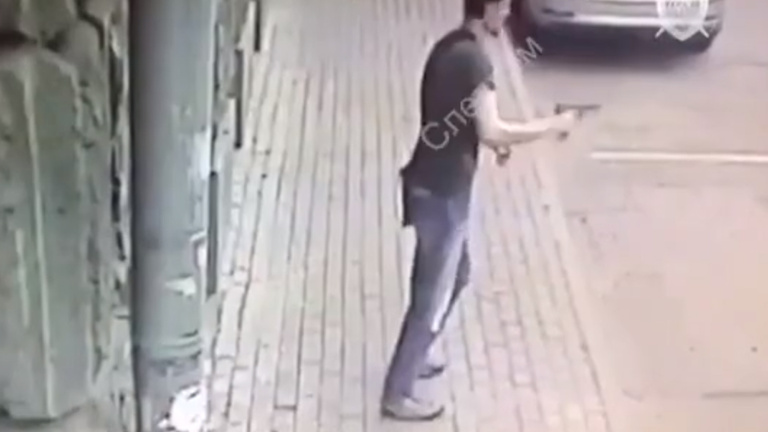 Lelőttek egy rendőrökre tüzet nyitó férfit Moszkvában