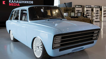 Elektromos autót mutatott be a Kalasnyikov