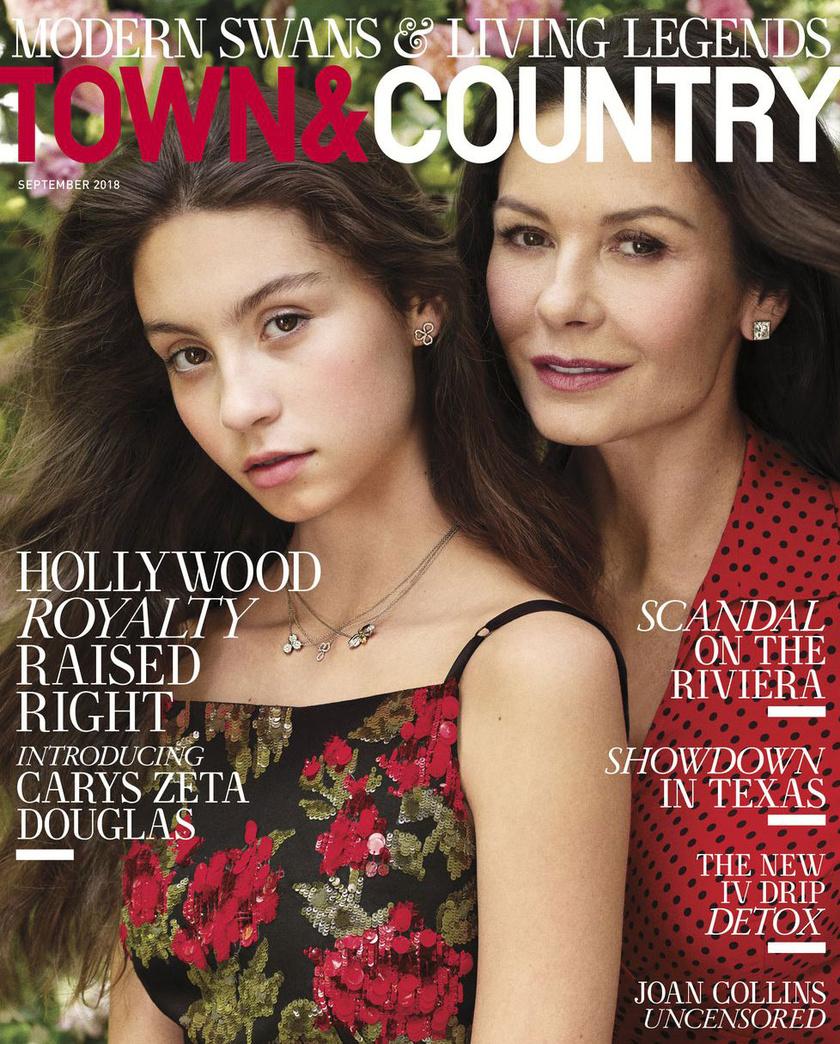Carys Douglas nemrégiben címlapon szerepelt gyönyörű édesanyjával, Catherine Zeta-Jones-szal.
