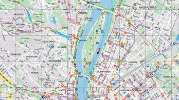 Biciklis BKK-térkép jelent meg
