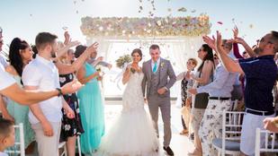 Akkorát táncolt az esküvőjén ez a menyasszony, hogy mindkét lába eltört