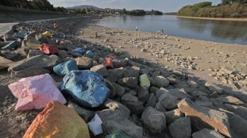 Rekordalacsony a Duna vízállása Budapesten, 41 centit mértek