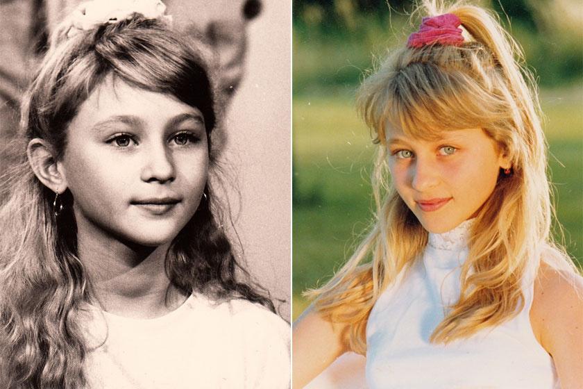 Galambos Lilla cuki kislányként került a Kölyökidőbe, a '90-es évek végére csinos kamaszlány lett belőle.