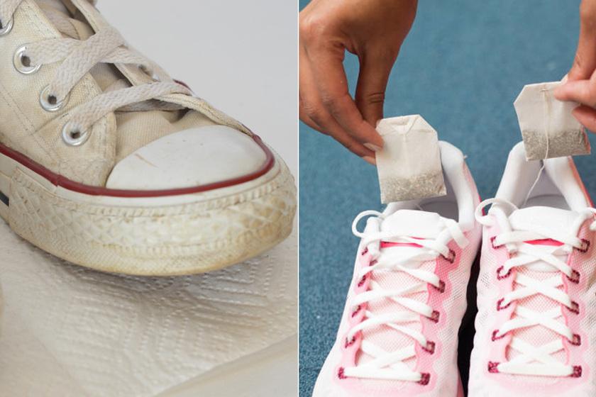 Így lesz újra hófehér a koszos, besárgult tornacipő – 10 trükk, ami megkönnyíti az életedet