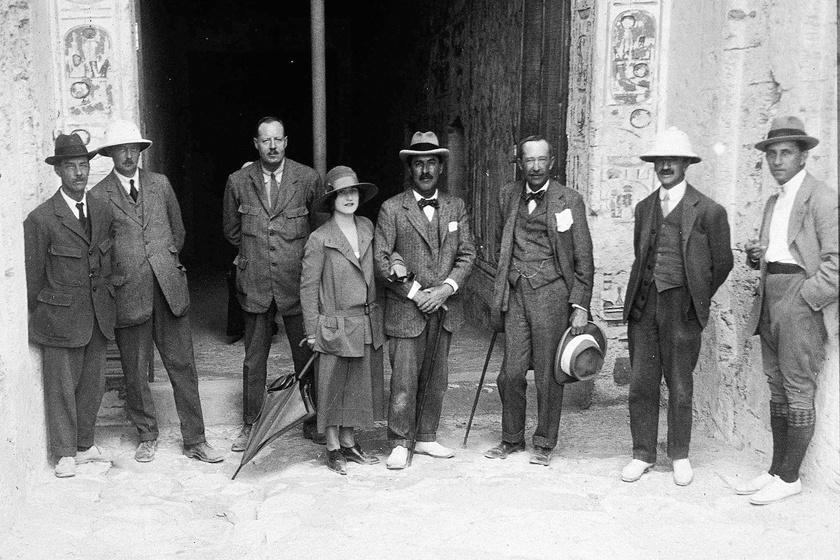 Howard Carter és régésztársai