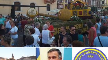 Virágkarneválos felvonulóautót nézte Romániát fenyegető tanknak a volt kolozsvári polgármester
