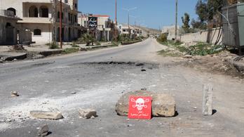 Az oroszok szerint vegyifegyver-támadást szerveznek a britek, hogy megtámadhassák Szíriát