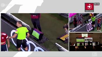 Ribery videóbírózni akart, a bíró eltaszajtotta